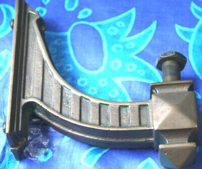 antique brass vintage brass bracket gas heavy gas light spare part brass mount