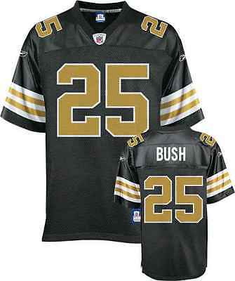 NFL Football Premier Trikot Jersey NEW ORLEANS SAINTS Reggie Bush 25 vintage
