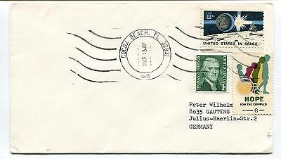 1972 Cocoa beach Florida Germany US in Space Space Cover