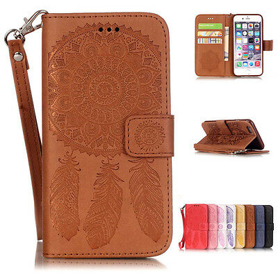 Luxury Wallet Magnetic Flip Leather Card Case Cover for Apple iPhone SE 6 7 Plus