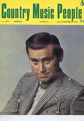 GEORGE JONES / JESSI COLTER Country Music People Aug 1971