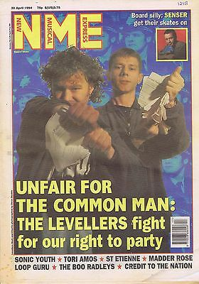 LEVELLERS / SENSER / SONIC YOUTH / TORI AMOS / ST ETIENNE NME 30 Apr 1994
