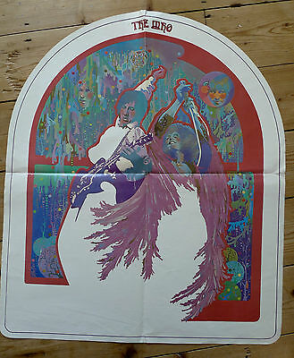 """THE WHO Original Vintage 60's Archway Promo Display Poster 24"""" x 28"""" 1969 RARE !"""