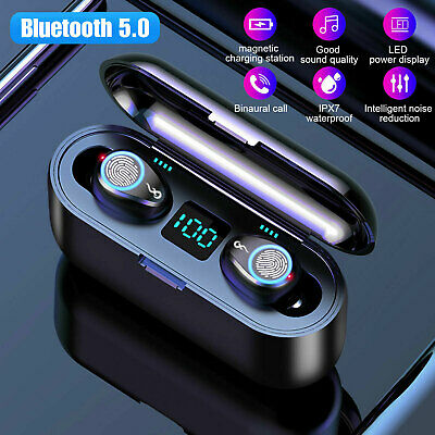 Stereo Wireless Headset Bluetooth Headphone Earphone for iPhone Samsung LG HTC