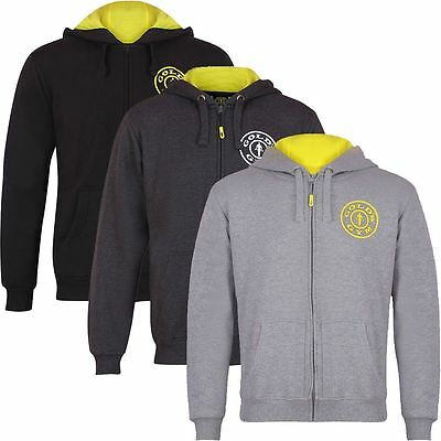 Gold's Gym 2017 Muscle Joe Fermeture Pullover Homme Pull Sport Hoody
