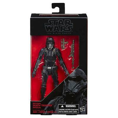 "Star Wars Hasbro Black Series Rogue One 6"" Figure 25 IMPERIAL DEATH TROOPER NEW"