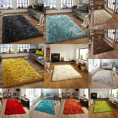 Think Rugs Polar PL 95 Shaggy Hand Tufted Rug