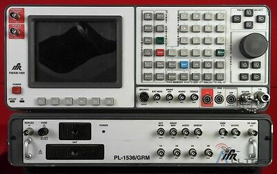 IFR 1600-PL-1536/GRM FM/AM Communications Service Monitor