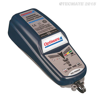 Optimate 4 Dual Motorcycle 12V Battery Charger Optimiser Can Bus - Top Quality