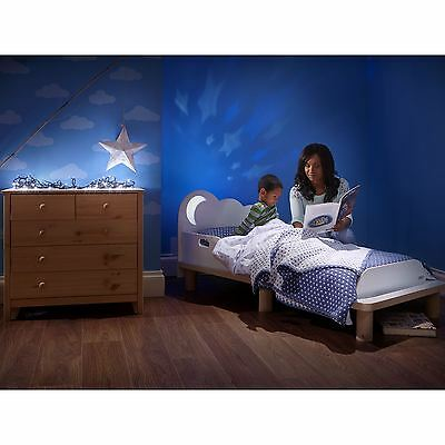 Starbright Mdf Toddler Bed With Moon Night Light New Worlds Apart Free P+P
