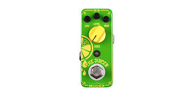 MOOER THE JUICER PEDAL Neil Zaza Signature Overdrive
