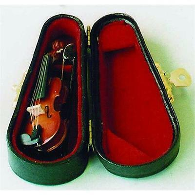 Violin in Black case for 1:12 Scale Dolls House