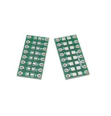 10pcs SMD/SMT Components 0805 0603 0402 to DIP Adapter PCB Board Converter