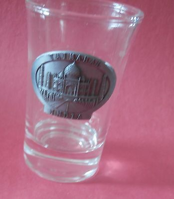 Taj Mahal India 3D Pewter  Shot Glass