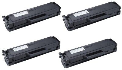 4pk MLT-D101S Black Toner for Samsung SCX 3400 3405 SF760 ML2160 2165