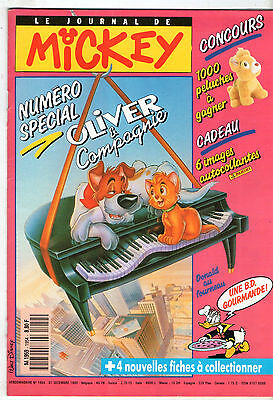 LE JOURNAL DE MICKEY n°1954 ¤ 1989 ¤ SPECIAL OLIVER ET COMPAGNIE