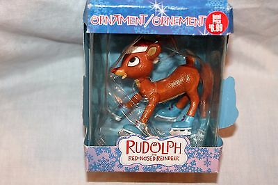 New Christmas  Rudolph The Red Nosed Reindeer Ornament