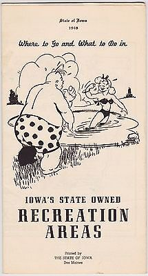 1948 Iowa State Recreation Areas Promotional Brochure