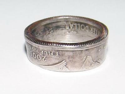 Hand Made Coin Ring - Quarter Dollar - Size 6