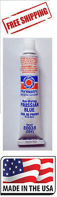 Permatex 80038 Prussian Blue Non-Drying 3/4 .75 oz. Tube (35V) Made in USA