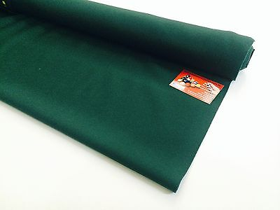 ENGLISH Hainsworth Pool Snooker Billiard Table Cloth Felt 7ft DARK RANGER GREEN