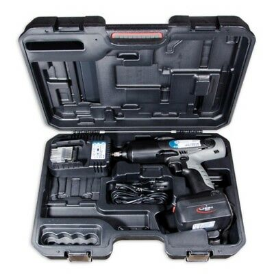 "Omega 1/2"" Cordless Impact Wrench Gun + Carry Case M2033 1/2"" Drive Kit 18v New"