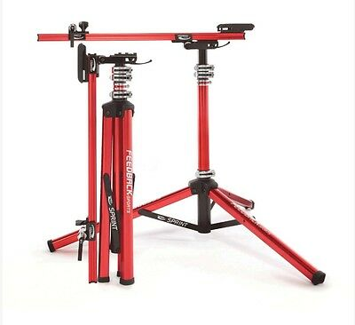 Feedback Sports 16690 Sprint Bicycle Repair Work Stand Red