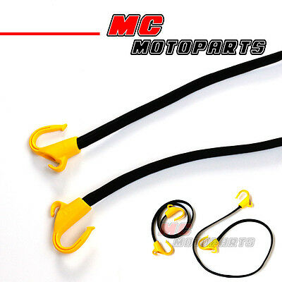 2x Bungee Cord Rope POM Hooks Reliable Elastic Heavy Duty For ATV /Truck 105YP