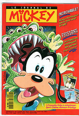 LE JOURNAL DE MICKEY n°1963 ¤ 1990 ¤ SPECIAL MONSTRES