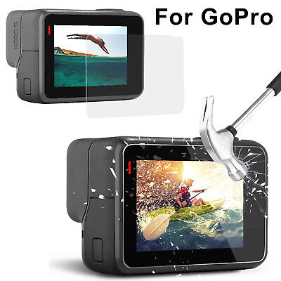 Tempered Glass HD Clear Protective Screen Protector Guard Film for GoPro Hero 5