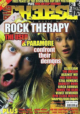 THE USED / PARAMORE / CARNAL FORGE Big Cheese no. 91 Sep 2007