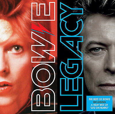 David Bowie Legacy: The Best of Bowie CD NEW