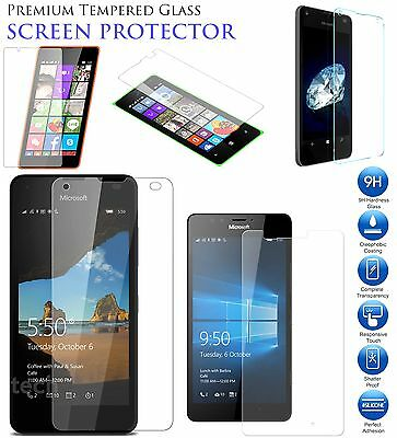 Genuine Tempered Glass Screen Protector Case For Nokia Lumia 535,550,950,635,640