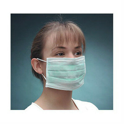 CareShop Ear Loop Surgical Face Masks - Green (Box of 50)