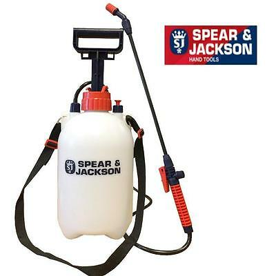 Spear And Jackson 5 Litre Pressure Sprayer General Purpose Garden 5Lpaps