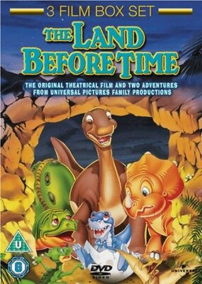 The Land Before Time 1-3 DVD Box Set NEW