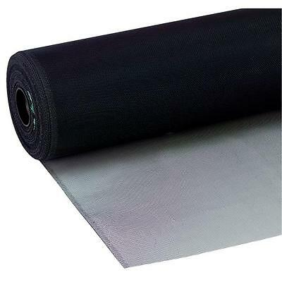 24-inch x 100-feet New York Wire BLACK Aluminum Screen Cloth Screening