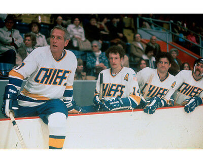 Slap Shot Paul Newman in ice hockey outfit 8x10 Photo