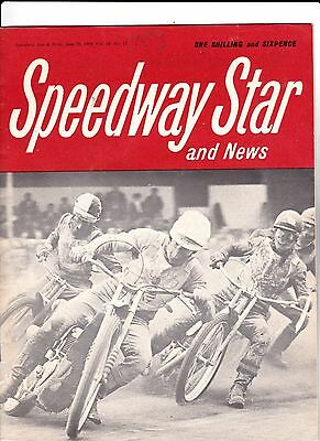 Speedway Star And News : June 20, 1969.