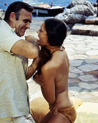 Diamonds Are Forever Sean Connery Denise Perrier strangling with bikini James Bo