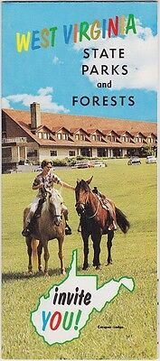 c1970 West Virginia's State Parks & Forests Brochure