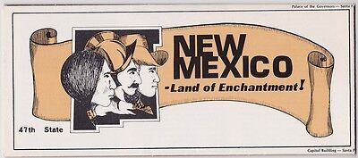 c1970  New Mexico State Issue Tourism Brochure