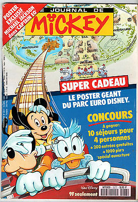 LE JOURNAL DE MICKEY n°2077 ¤ 1992 ¤ STEPHANE TAPIE / HIBERNATUS
