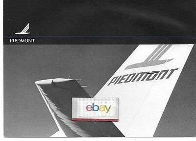 Piedmont Airlines 1983 Boeing 737-200 Pacemaker Tail B/w Print