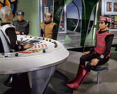 Captain Scarlet and the Mysterons Captain Black Colonel Gray 8x10 Photo
