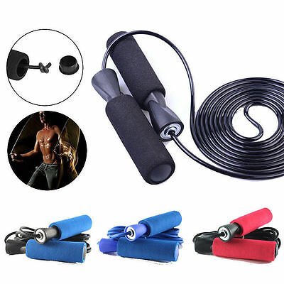 Skipping Rope Adjustable Fitness Speed Jump Boxing Exercise Gym Jumping Workout