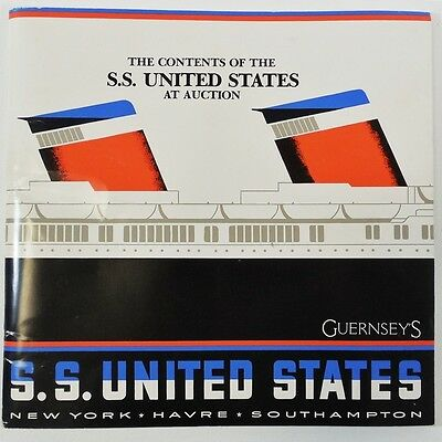 SS United States Guernsey Auction Catalog 1984