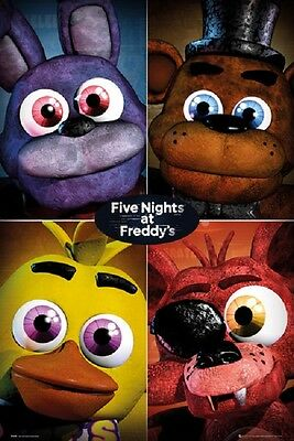 FIVE NIGHTS AT FREDDY'S POSTER Rolled New Poster 24x36
