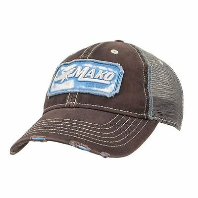 Mako Boats Unstructured Distressed Storm Cap Hat