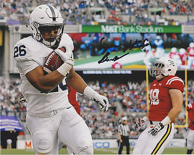SAQUON BARKLEY Penn State Nittany Lions Football Signed 8x10 Photo C